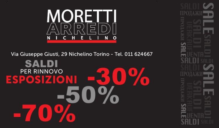 Saldi per rinnovo esposizioni - Moretti Arredi
